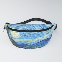 Vincent Van Gogh Starry Night Vintage Painting Fanny Pack