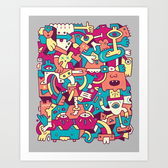 Ploon Art Print