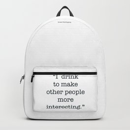 The Quotes #5 Backpack