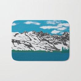 Banff Lake View Bath Mat