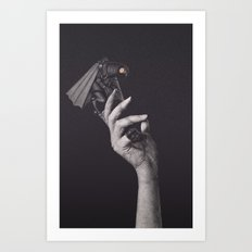 No, but I'm afraid of you Art Print