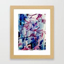 Shadows in Water Framed Art Print