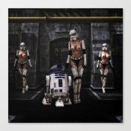 Sexy Sci-Fi 2 Canvas Print