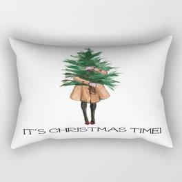 It's Christmas Time Rectangular Pillow