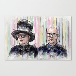 Pet Shop Boys Canvas Print