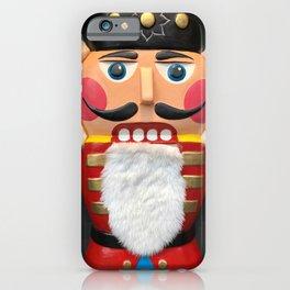 Nutcracker Christmas Design - Illustration iPhone Case