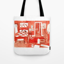 Cold Toes Tote Bag