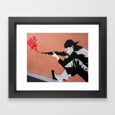 I LOVE YOUR GUN Framed Art Print