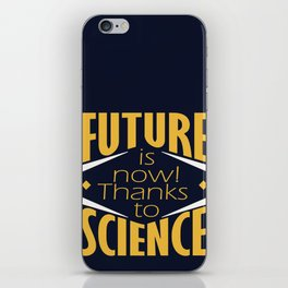 Future is now! iPhone Skin