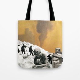 An Industrial Vice Tote Bag
