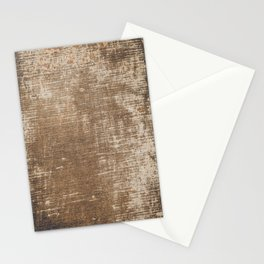 Cement Weathered Brown Abstract Photograph Stationery Cards