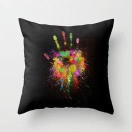 Artist Hand (1) Throw Pillow