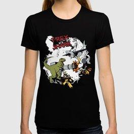 T-Rex VS Shark  T-shirt