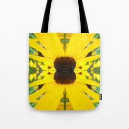 Trippy Sunflower Tote Bag