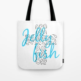 Jellyfish Cross Tote Bag