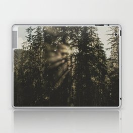 Sunset in the Woods - Nature Photography Laptop & iPad Skin