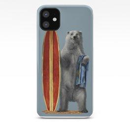 Polar Surfer iPhone Case