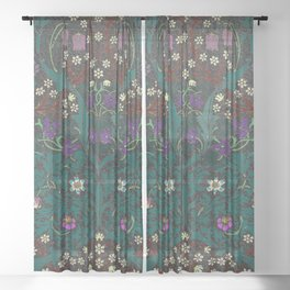 Blackthorn - William Morris Sheer Curtain
