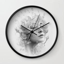 Efflorescent Wall Clock