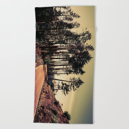 Woodland #2 Beach Towel