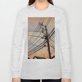 wires up Long Sleeve T-shirt