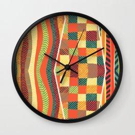 Motif 2 Wall Clock