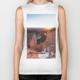 Bryce Canyon Sunrise Biker Tank