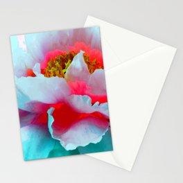 Vibrant Multicolor Floral teture Stationery Cards