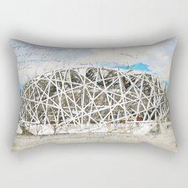 Beijing National Stadium, China Rectangular Pillow