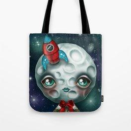 Moon Boy Tote Bag