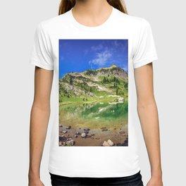 Naches Peak and Lake T-shirt