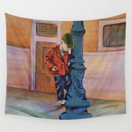 Singing in the rain, the early years Wall Tapestry