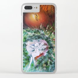 Elves Land Clear iPhone Case