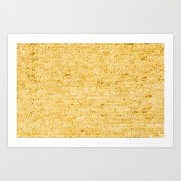 Oz Follow The Yellow Brick Wall Art Print