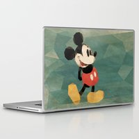 mickey Laptop & iPad Skins featuring Mr. Mickey Mouse by Ed Burczyk
