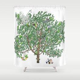 BB&PPINC Tree Print Shower Curtain