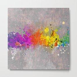 Colorsplash Metal Print