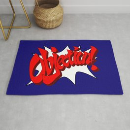 ACE ATTORNEY PHOENIX WRIGHT: OBJECTION! Rug