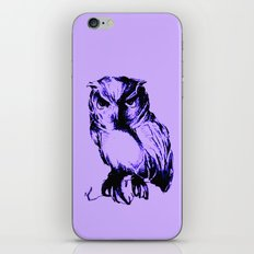 Owl Color iPhone Skin