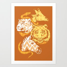 Animal Prints Art Print
