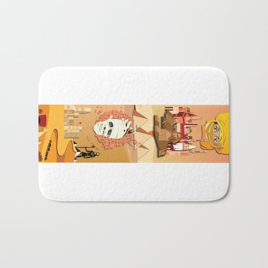An Egyptian Story Bath Mat