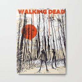 Walking dead Michonne art Metal Print