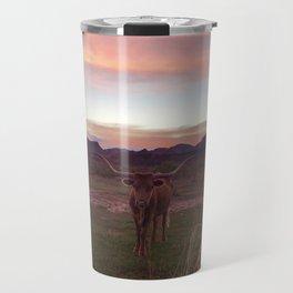Longhorn Travel Mug
