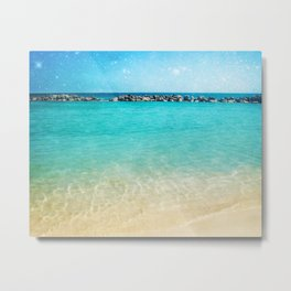 Blue Curacao Metal Print