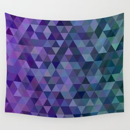 Triangle tiles Wall Tapestry