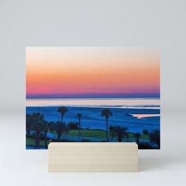 Blue Hour Before Dawn Mini Art Print