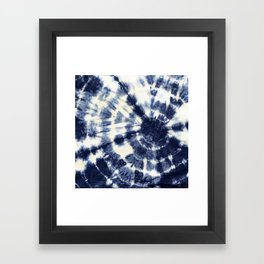 Indigo I Framed Art Print