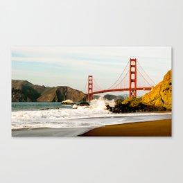The Golden Gate Bridge at Baker Beach Canvas Print