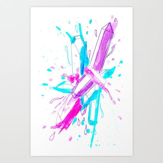 Kodamede Art Print