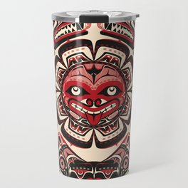Sisiutl - The Two Headed Serpent Travel Mug